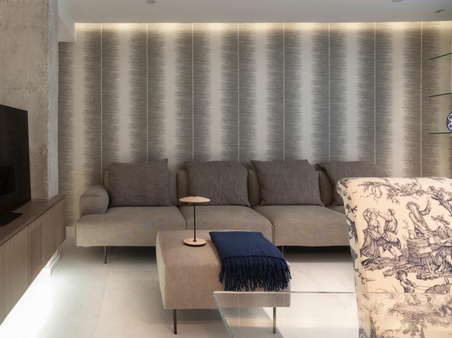Luz sofa salon cervero obras